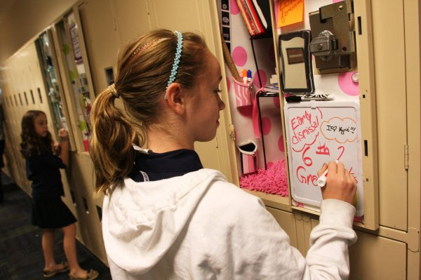 Locker Decorations Growing in Popularity in Middle Schools ...