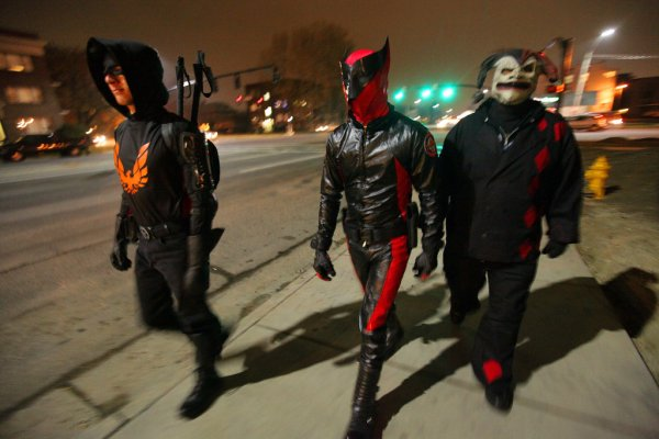 Crusaders Take Page, and Outfits, From Comics - The New ...