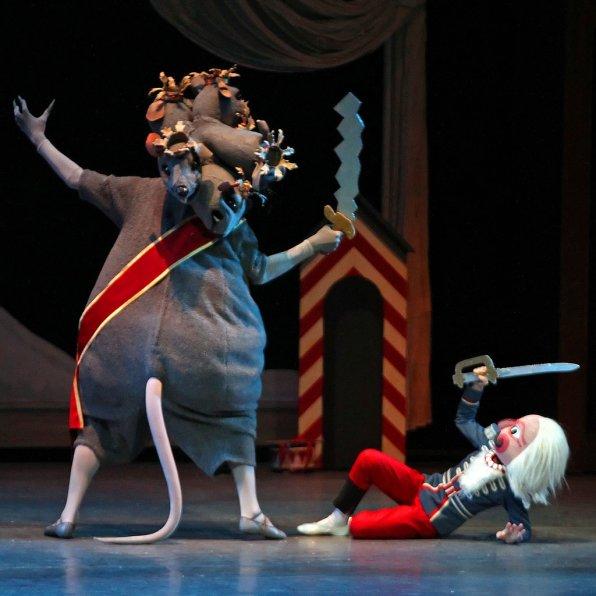 Image result for new york city ballet nutcracker battle