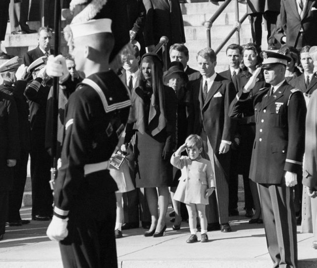 Stan Stearns Photographer Of John F Kennedy Jr S Salute To Father Dies At 76
