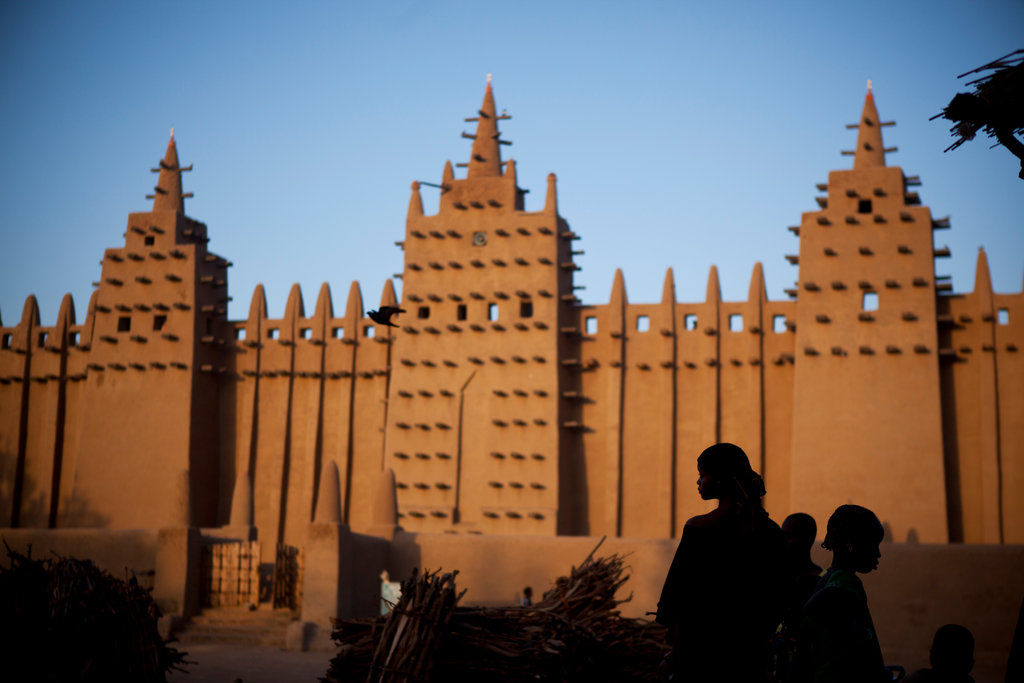 Image result for great mosque of timbuktu