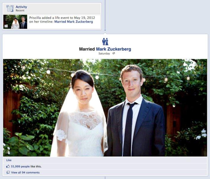 Who Is Priscilla Chan    The New York Times POWER COUPLE Part of Priscilla Chan s Facebook page  where she updated her  marriage status  Credit Noah Kalina