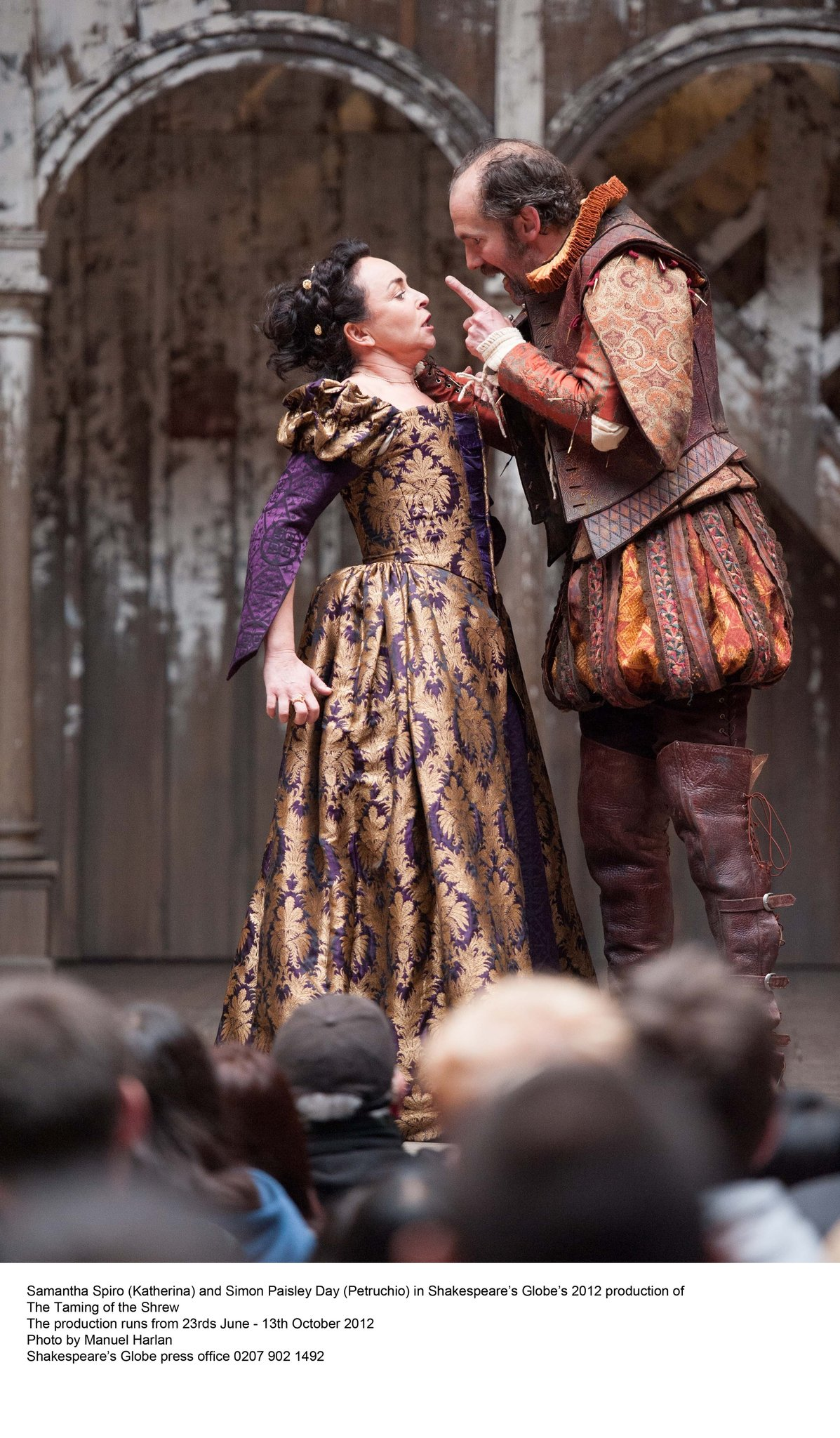Taming Of The Shrew At Shakespeare S Globe