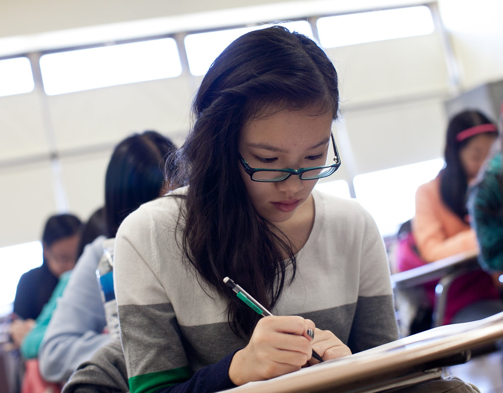 Asians Success In High School Admissions Tests Seen As