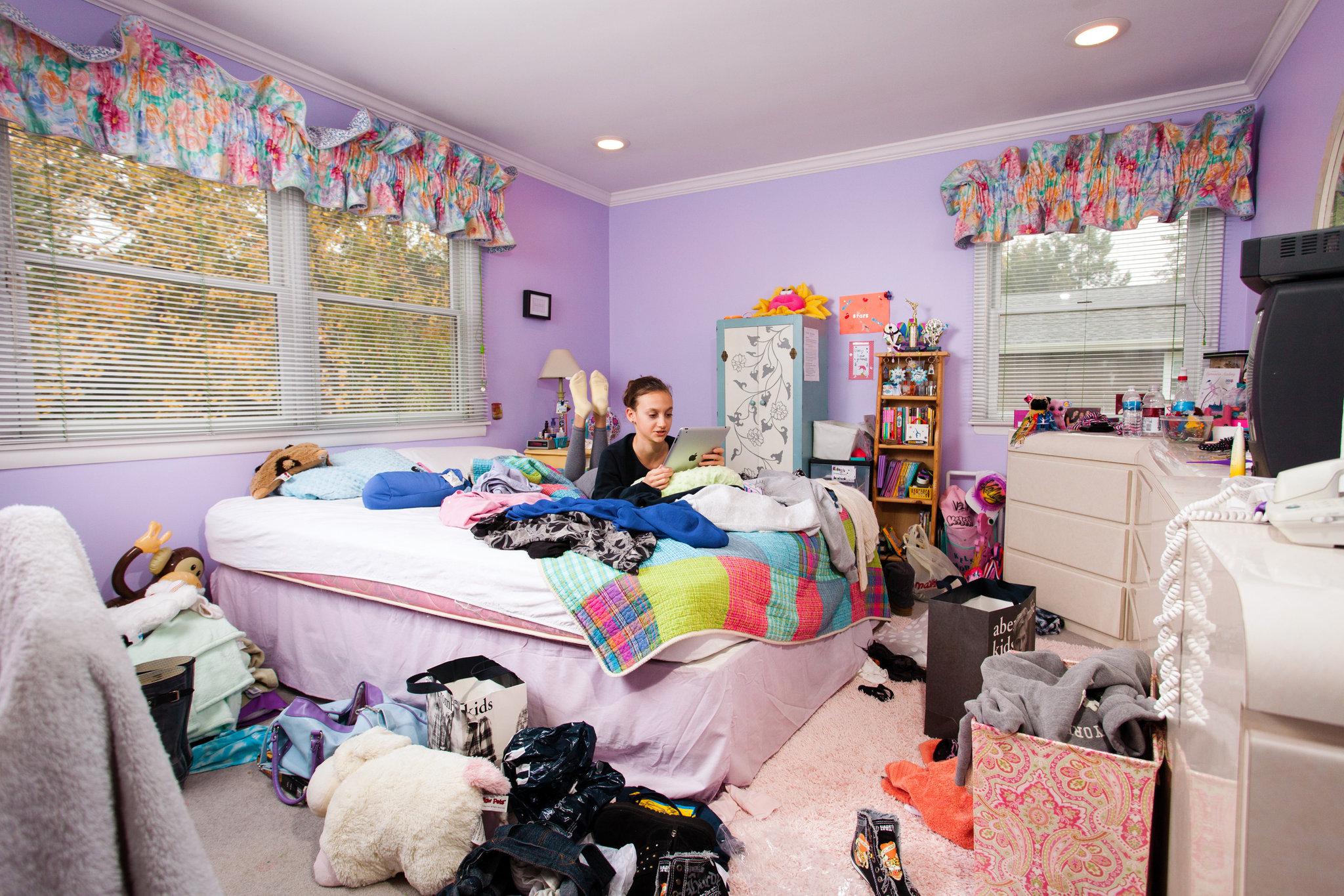 Teenage Bedroom As Battleground