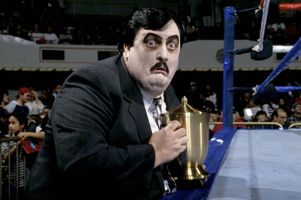 William Moody, 58, Pro Wrestling's Paul Bearer, Dies - The New York Times