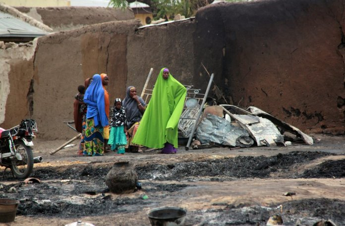 Massacre in Nigeria Spurs Outcry Over Military Tactics - The New York Times