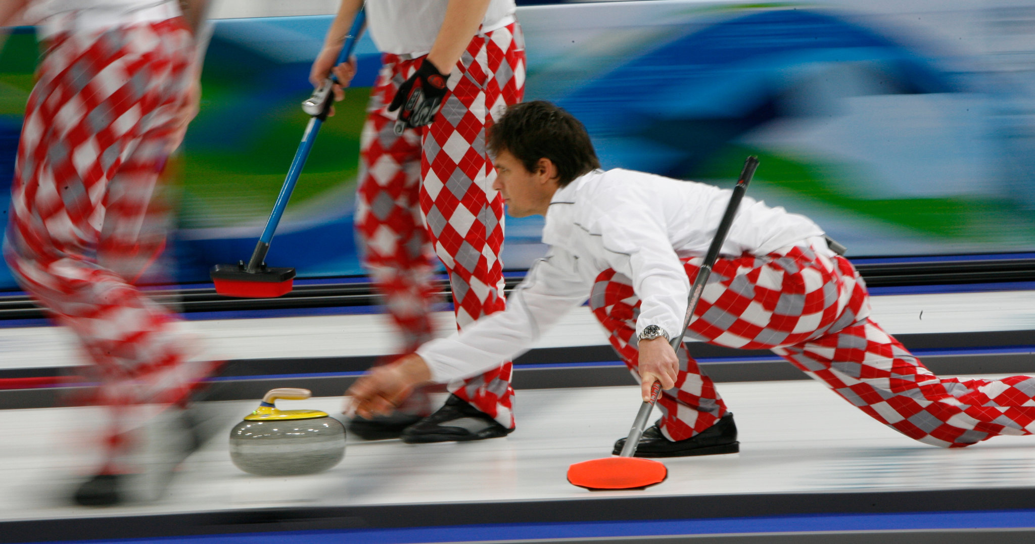 Olympic Norway Curling Team Uniforms