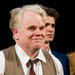 Philip Seymour Hoffman at the curtain call on opening night of the 2012 Broadway revival of