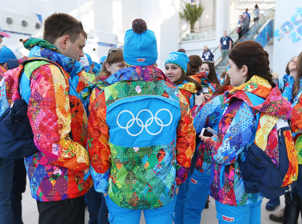 For Sochi Games Russians Trade Dour For Dazzling