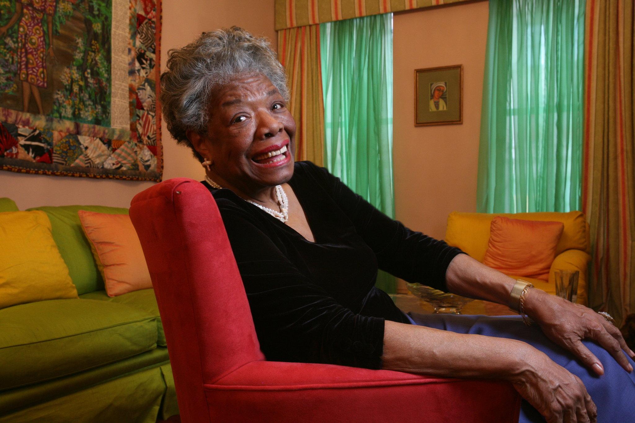 Maya Angelou Lyrical Witness Of The Jim Crow Souths