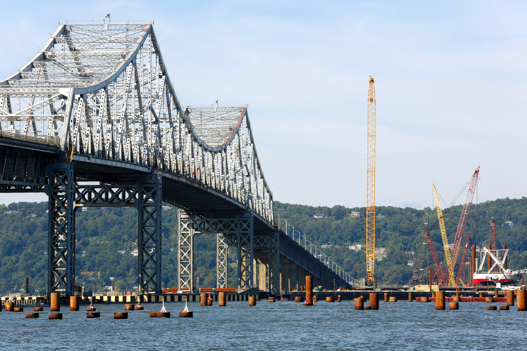 Skeleton Of Tappan Zee Bridge S Successor Begins To
