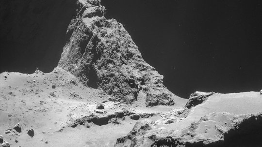 Landing on a Comet, a European Space Agency Mission Aims ...