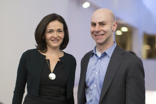 Adam Grant and Sheryl Sandberg