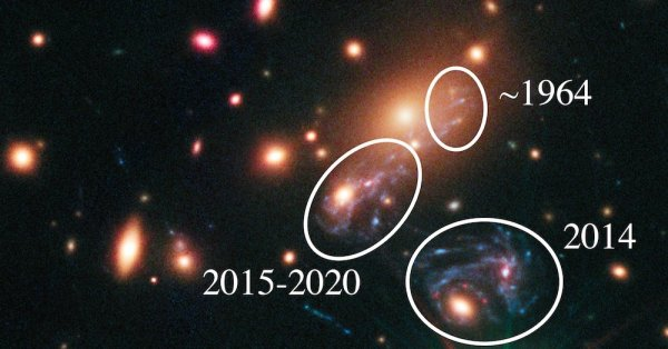Astronomers Watch a Supernova and See Reruns - The New ...