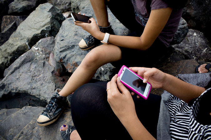 india westernized western nations nytimes phones smart teens