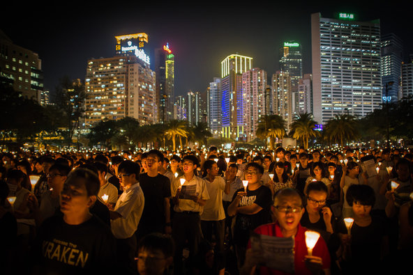 Rival Pro-Democracy Rallies Planned for June 4 in Hong ...