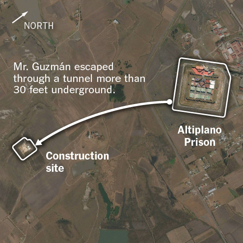 El Chapo May Have Used Bird To Test Escape Tunnel Air