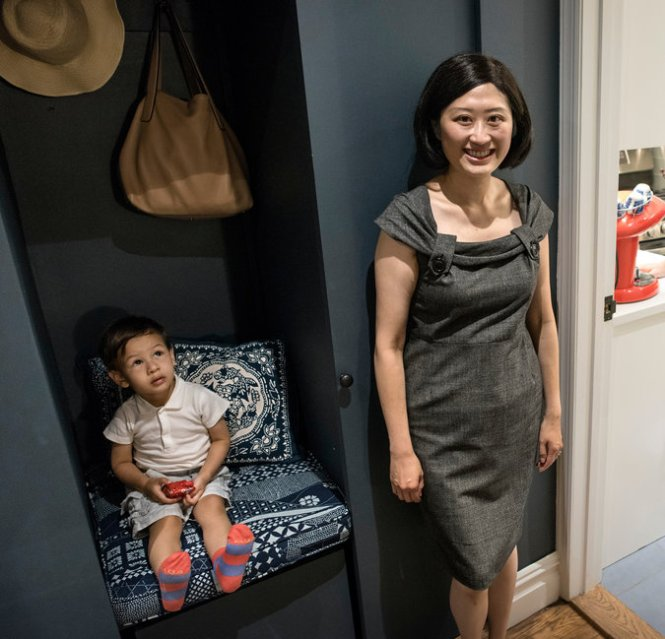 Katherine Tsang And Her Husband Bought An Upper East Side One Bedroom With A Dining Area Turned Nursery Already In Place For Mimo