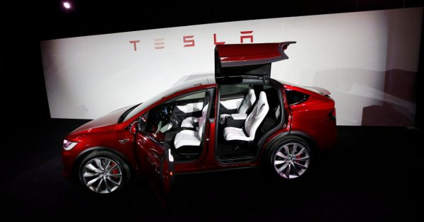 Tesla Delivers Model X, Its First Sport Utility Vehicle ...