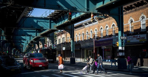 Woodhaven Queens Subway Stops and Hiking Trails The