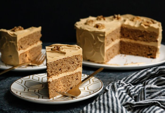 Coffee Walnut Layer Cake Recipe Nyt Cooking