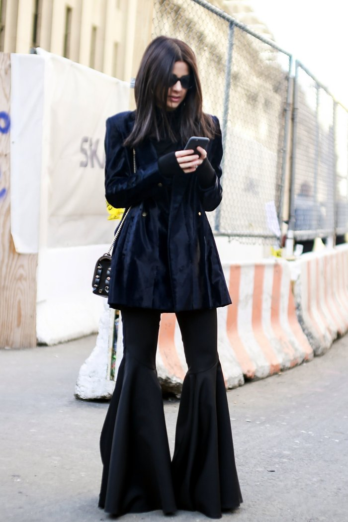 Image result for bell bottoms street style