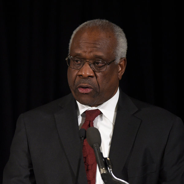 Justice Thomas Talks; People Listen: Reporter's Notebook ...