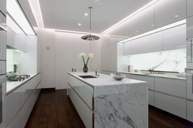 One Wall Kitchen Floor Plans
