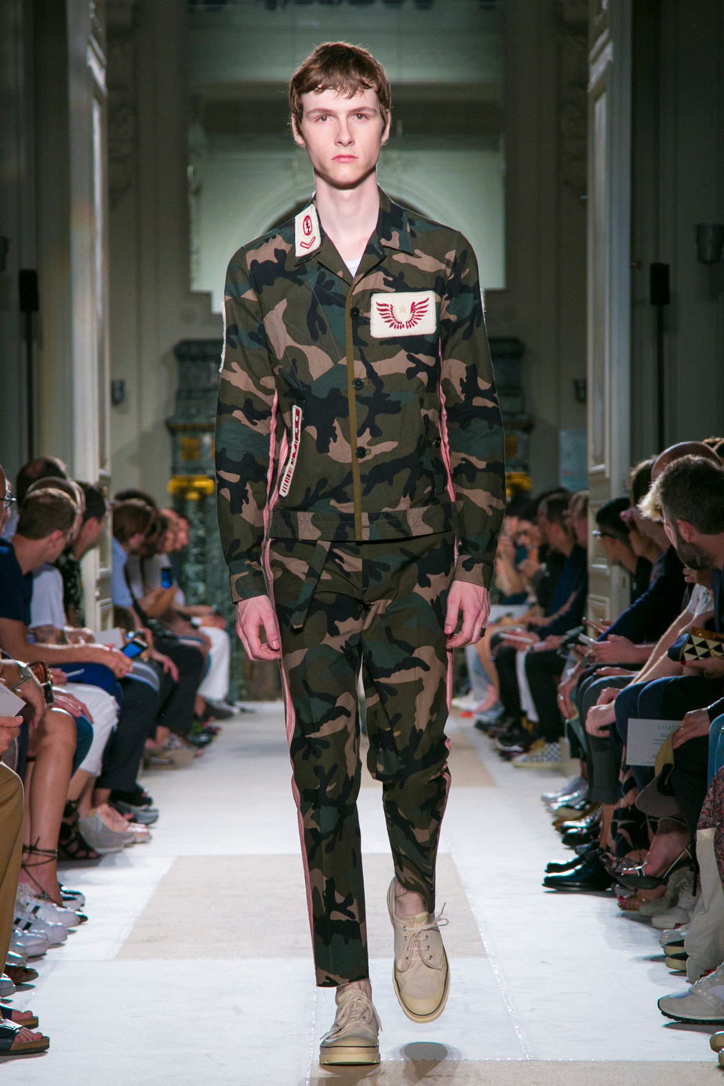Image result for fashion runway models camo
