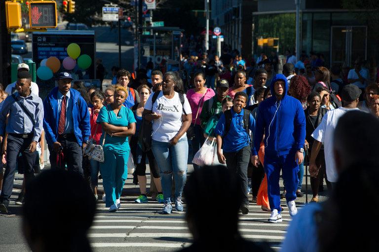 Immigrants New York 2016