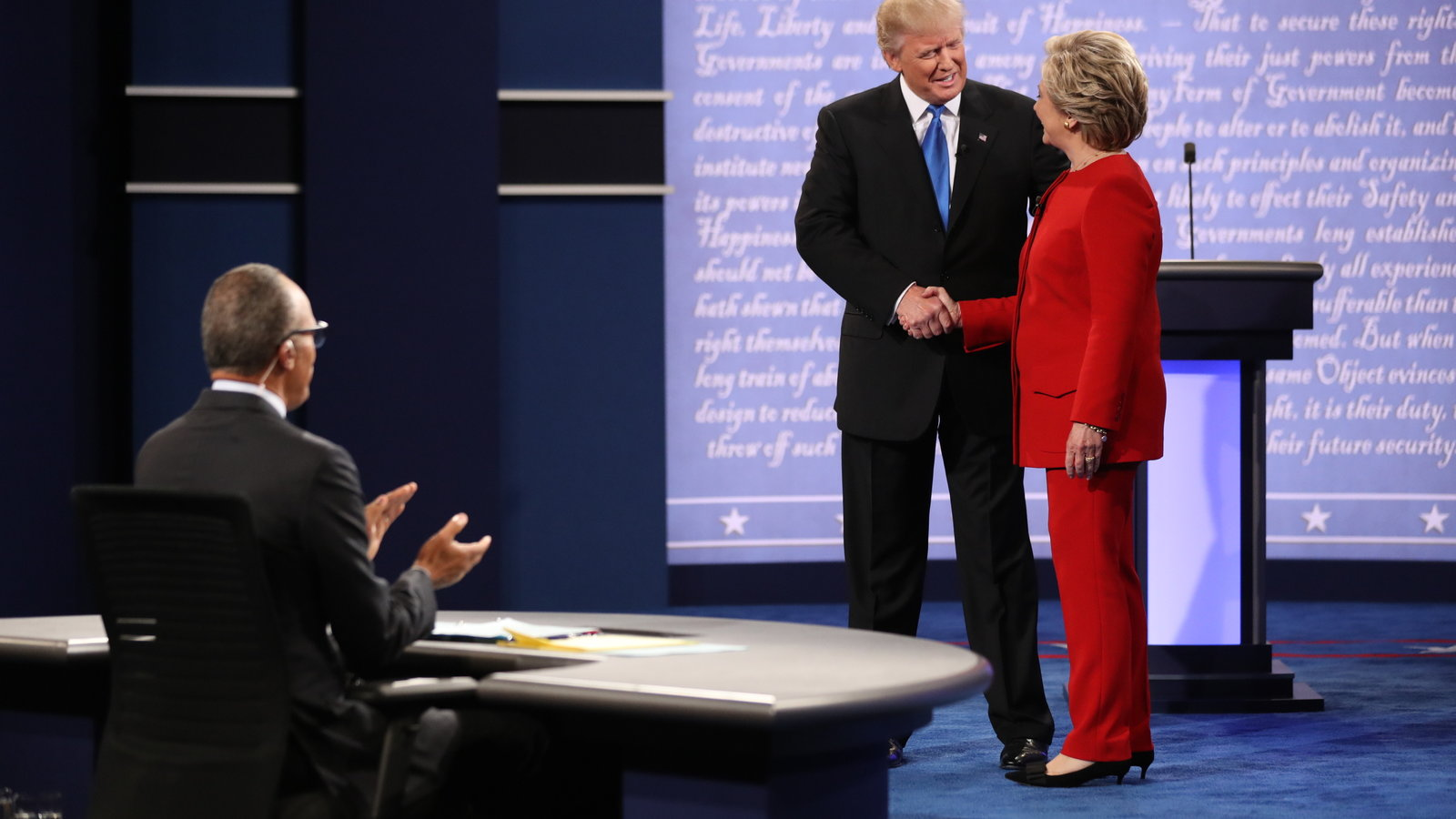 Did You Miss The Presidential Debate Here Are The