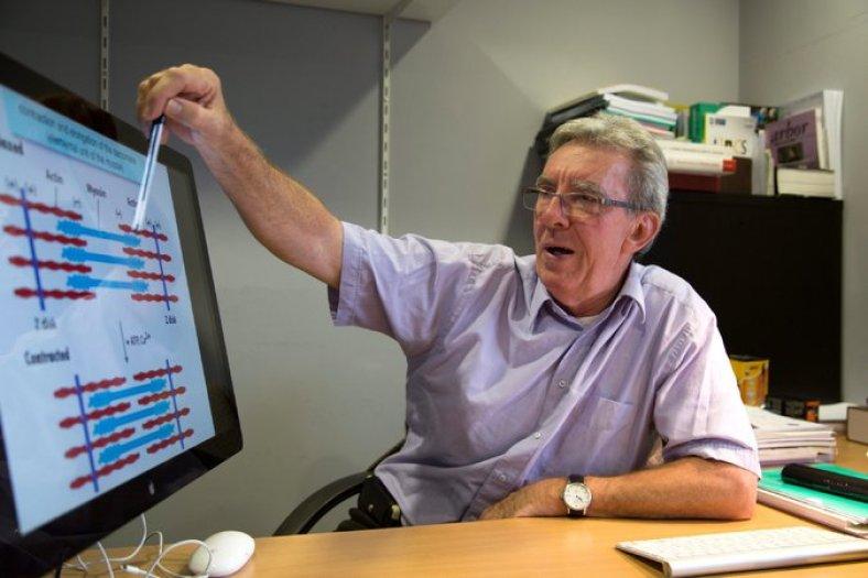 Jean-Pierre Sauvage, profesor emérito de la Universidad de Estrasburgo, en 2014. Es uno de los tres ganadores del Premio Nobel de Química. Credit Catherine Schroeder/Unistra, vía European Pressphoto Agency