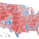 What This 2012 Map Tells Us About America And The Election The New York Times
