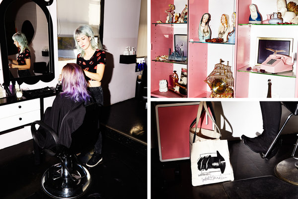 A Radical Feminist Hair Salon With Serious Cool Girl Cred