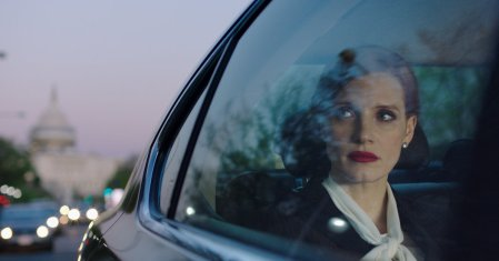 Jessica Chastain in Miss Sloane trailers