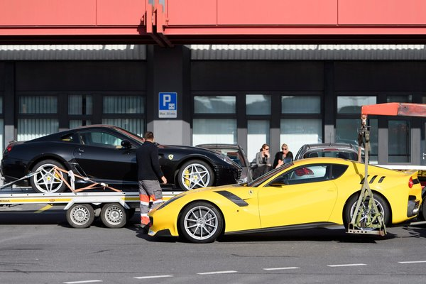 Eleven cars, including two Ferraris, owned by Teodoro Nguema Obiang Mangue were seized in November by the Swiss authorities.