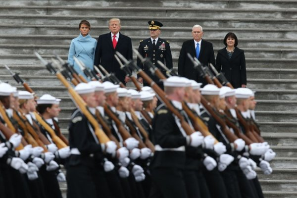 Donald Trump Inauguration: A Day of Ceremony, Protests and ...