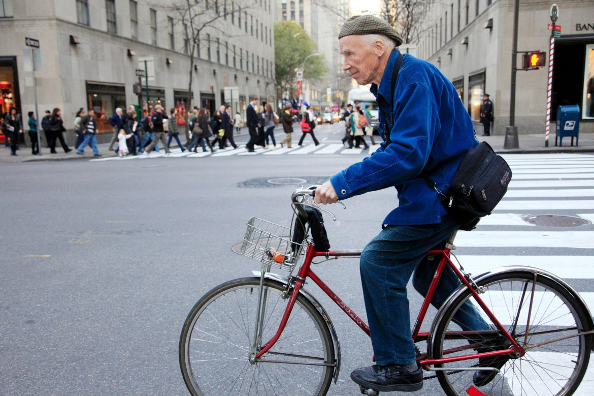 Bill Cunningham's Trademark Bicycle and Jacket Join the New-York Historical Society - The New York Times