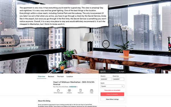 Welcome, Airbnb Guest! Your Neighbors are the Trumps - The ...