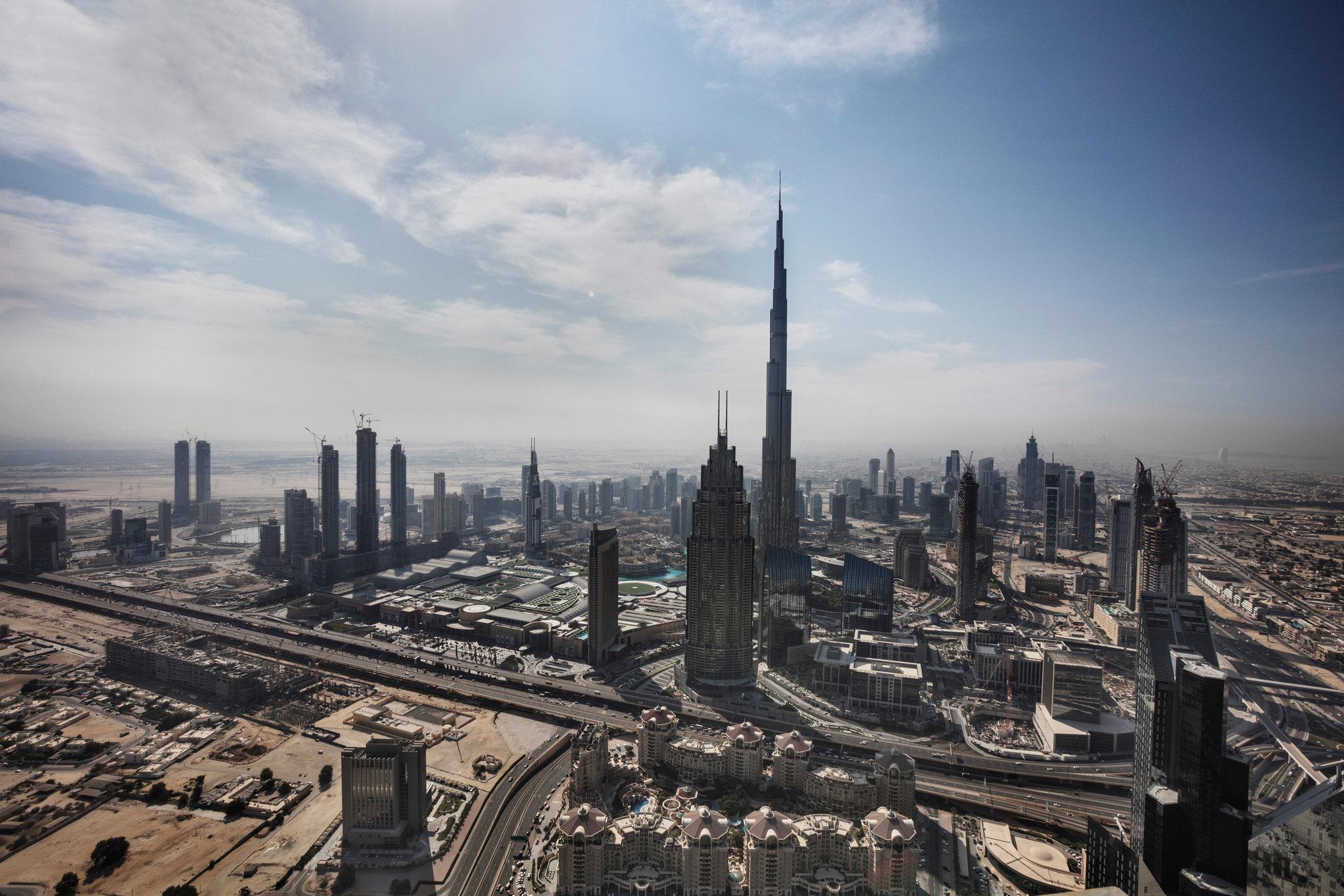 As Dubai S Skyline Adds A Trophy The Architect Calls It