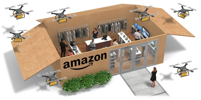 Amazons Ambitions Unboxed Stores For Furniture Appliances And More The New York Times