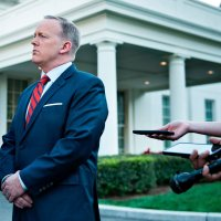 Sean Spicer's Teeny Little Slip-Up by ANDREW ROSENTHAL