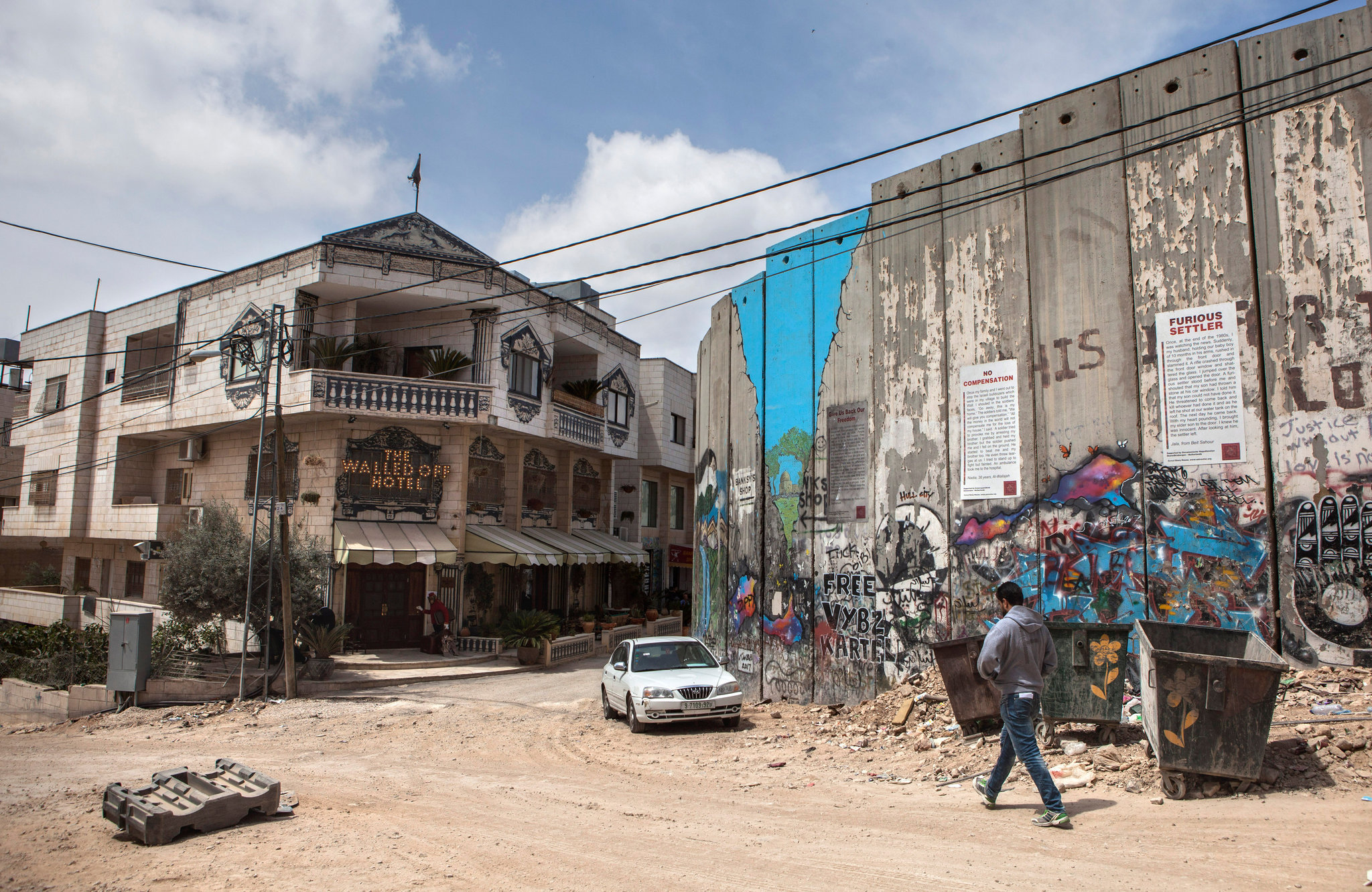 Banksy Hotel In The West Bank Small But Plenty Of Wall