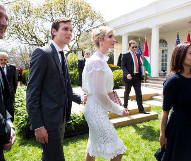 Image Jared Kushner And Ivanka Trump In The Rose Garden