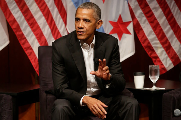 Obama Balances Civic-Minded Side With the Lure of a ...