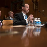 Rosenstein Vows Mueller Will Have Independence in Russia Inquiry by CHARLIE SAVAGE, EMMARIE HUETTEMAN and MICHAEL D. SHEAR