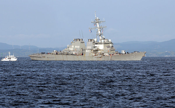 Maritime Mystery Why A US Destroyer Failed To Dodge A