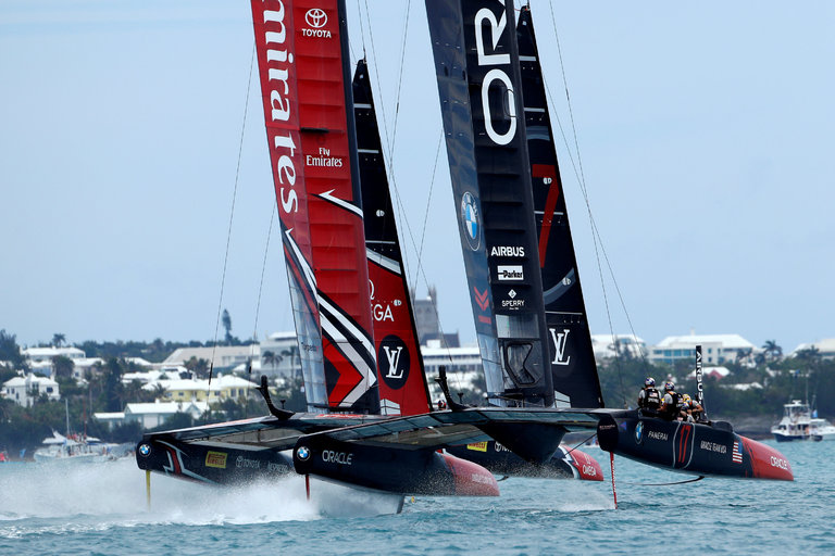 Oracle Team USA Finally Breaks Through At The Americas