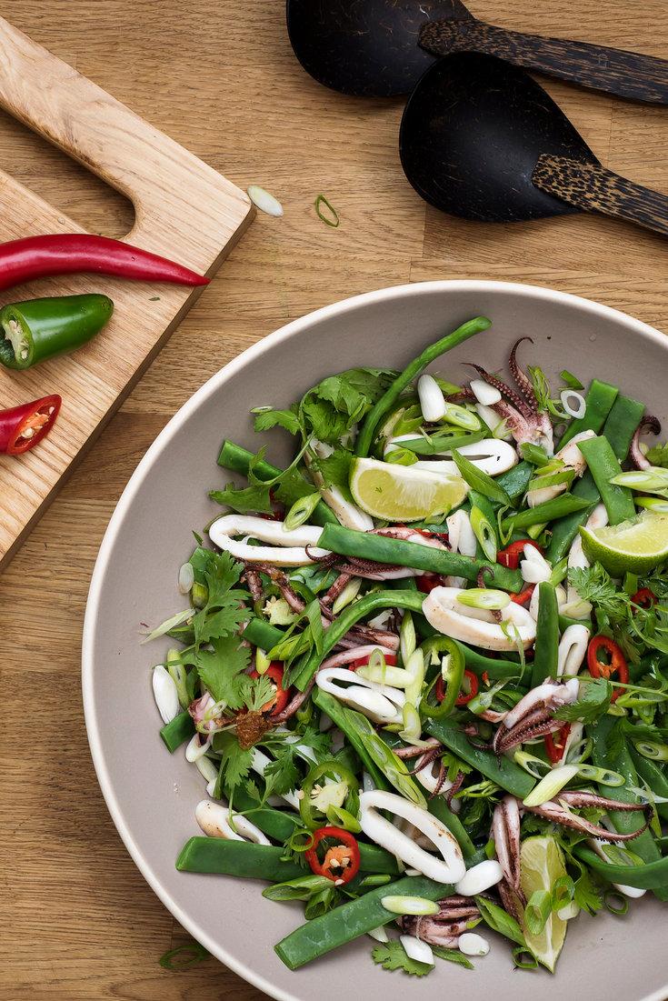 Three Bean Salad Vinaigrette